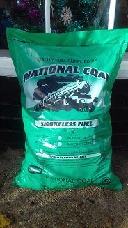 Smokeless coal 25kg