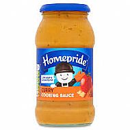 Homepride cooking sauce curry