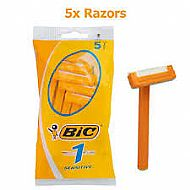 Bic razors disposable