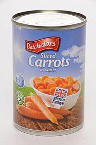 Batchelors sliced carrots