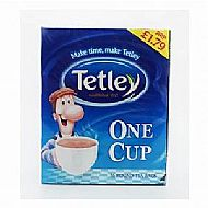 Tetley one cup teabags - 72's