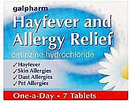 Hayfever Tablets