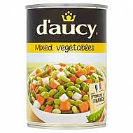 Tin Mixed veg - 400g