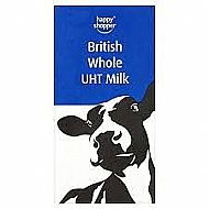 Long life whole milk
