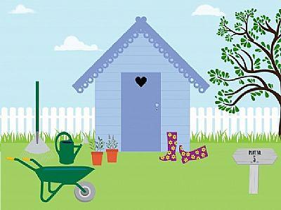 artist image of gardening