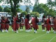 band forming circle at inverness games 2006