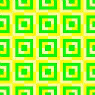 green yellow squares