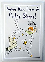 Never Run From A Polar Bear