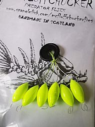 6 pack tick indicators neon lime