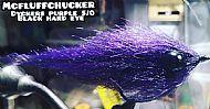 black / purple blackeye baitfish