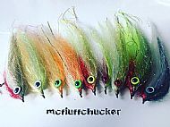 starter pike pack - 5 flies