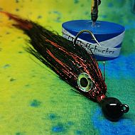 black and red hunter jig
