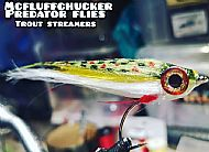 wool trout streamer