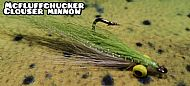 clouser - chartreuse / lateral scale