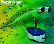 silver head green baitfish