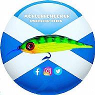 mcfluffchucker vinyl box stickers