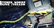 stoner wormz olive-yellow