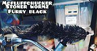 stoner worm black fur