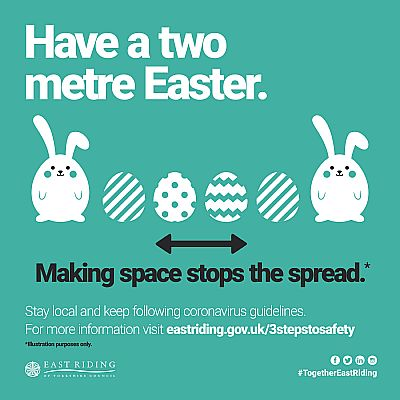 have a two metre easter