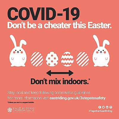 don't be a cheater this easter