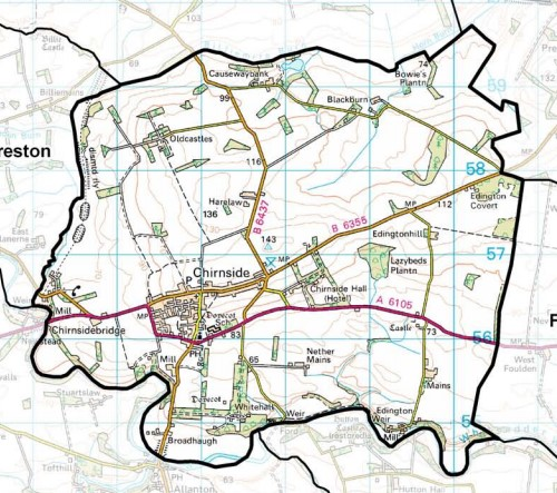 chirnside community council area