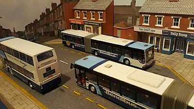 bendibuses hard at work on route 27