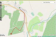 Track towards Meall Rheamar, above the school.