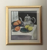 Still-life With Silver Teapot
