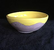 Two-tone Wave Bowl