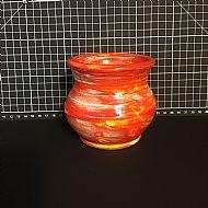 Wee Flame Red Vase