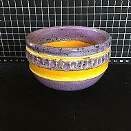 Violet Relief Bowl
