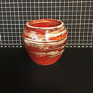 Wee Flame Red Urn Pot