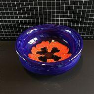 Cobalt Poppy Bowl