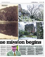 Strathearn Herald's centre spread