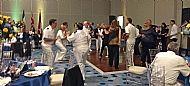 Dancing at the Gala Dinner