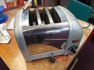 Toaster before repair
