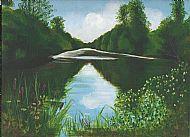 Lake @ Calke Abbey 2