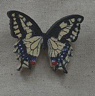 swallowtail brooch