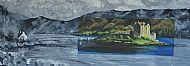 Eilean Donan abstract