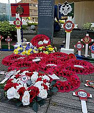 VJ Day Memorial Service Motherwell North Lanarkshire