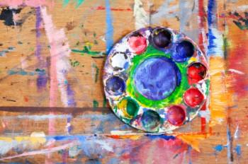 a paint palette
