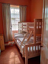Triple bunk beds