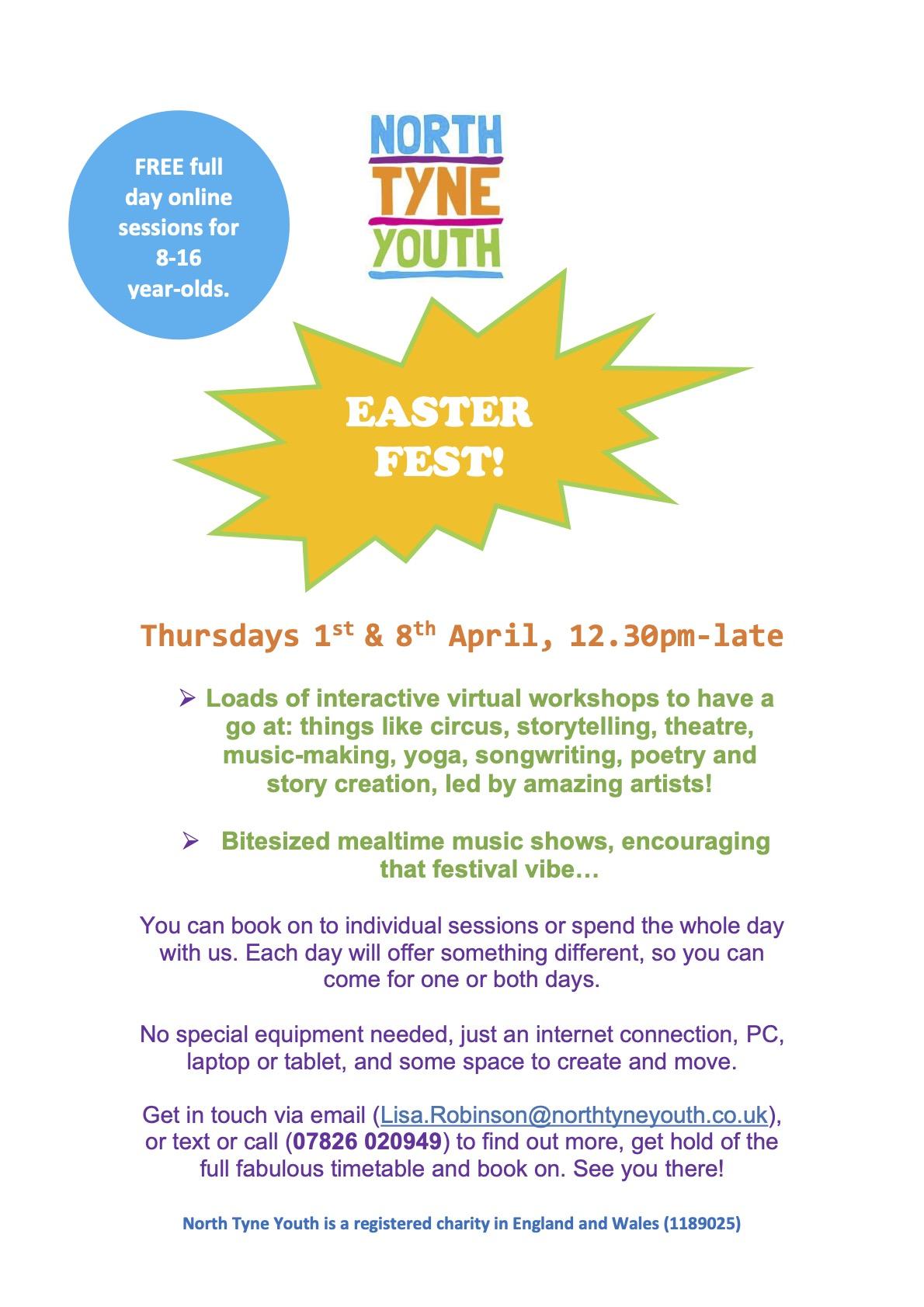 easterfest poster