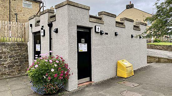 photo of public toilets