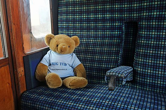 big ted on the ecclesbourne valley railway - click for a larger image