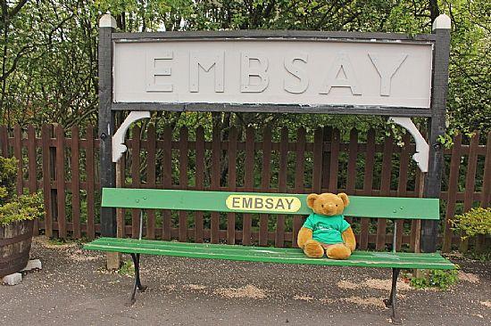 me at embsay station