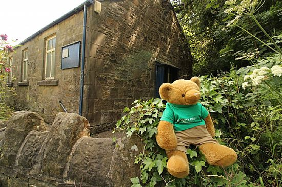 big ted and church notice board (in the distance)