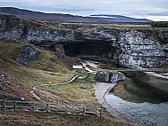 Smoo Cave from the East