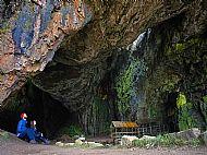 Inside Smoo Cave