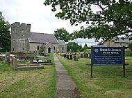 Welsh St. Donats Church